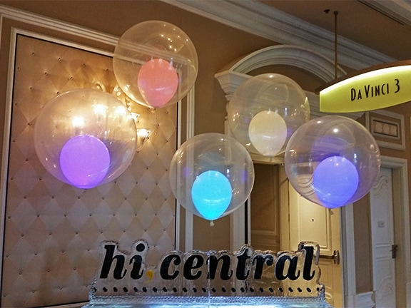 balloon lights and party lighting balloons with a twist